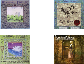 Assorted Celtic and Medeival CDs available at Gypsy Moon Emporium.