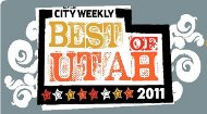 Best of Utah award from City Weekly.